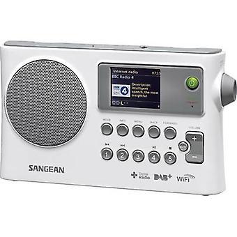 Sangean WFR-28C Internet przenośne radio DAB +, FM AUX, radio internetowe, USB DLNA kompatybilny Biały