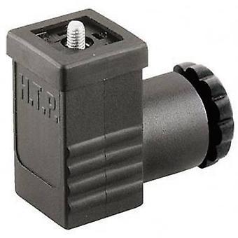 Hirschmann 933 138-100 GDS 207 kabel Socket, vrij configureerbaar zwart aantal pinnen: 2 + PE