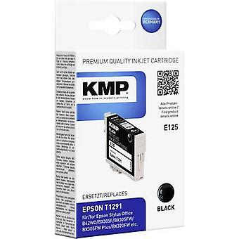 KMP Ink replaced Epson T1291 Compatible Black E125 1617,0001