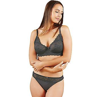 Chico gris geométrica bragas Panty breve de Francia 76265-D-010 mujer