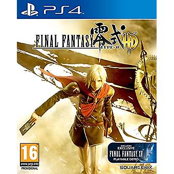 Final Fantasy Type-0 HD (PS4) - New