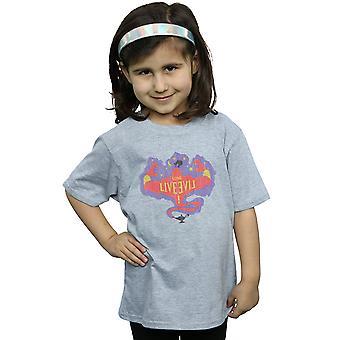 Disney dziewczyn T-Shirt długi żyć Genie potomków