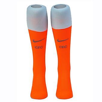 2018-2019 Chelsea Nike tredje sokker (Orange)