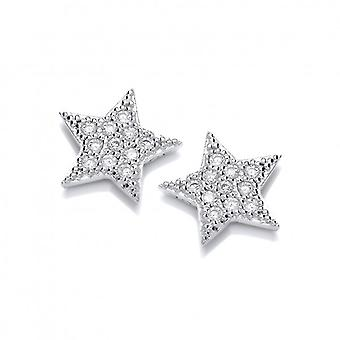 Cavendish francese carina Cubic Zirconia orecchini stella