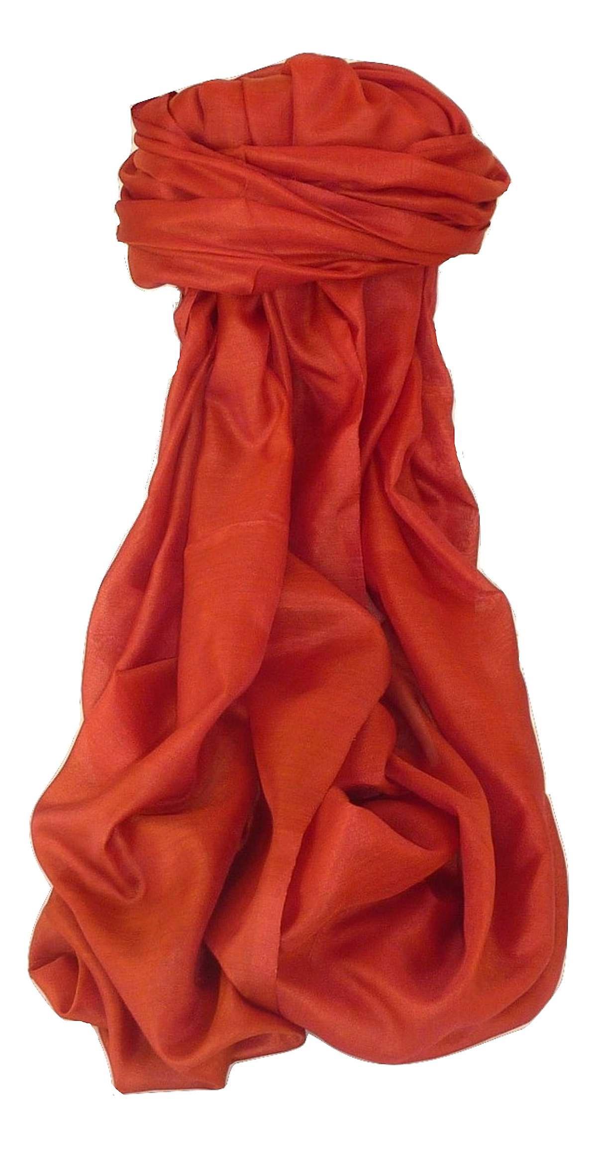 Varanasi Silk Long Scarf Heritage Range Gunneswaran 4 by Pashmina & Silk