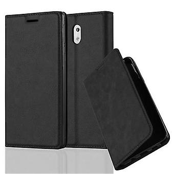 Cadorabo case for Nokia 3 2017 case case cover - phone case with magnetic clasp, stand function and card compartment – Case Cover Protective case case Book Folding Style