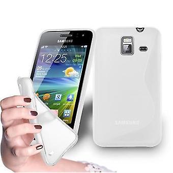Cadorabo Case for Samsung Galaxy WAVE Y Case Cover - Flexible TPU Silicone Case Case Ultra Slim Soft Back Cover Case Bumper