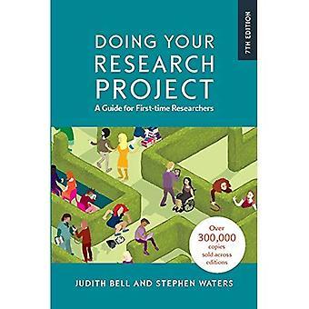 Faire de votre projet de recherche