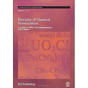 Periaatteisiin kemiallisen nimikkeistön