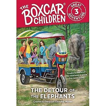 Omvägen av elefanterna (Boxcar barn stora äventyr)