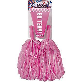 Pom Pom Set Pink