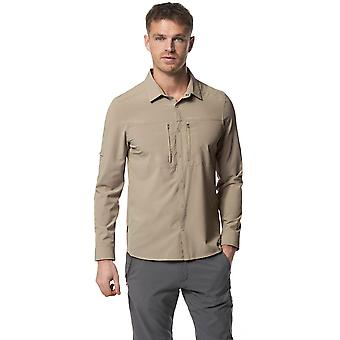 Craghoppers Mens Nosi vie Pro Solarsheild Long Sleeve Shirt