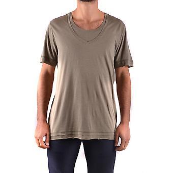 Neil Barrett Ezbc058037 Men's Green Cotton T-shirt