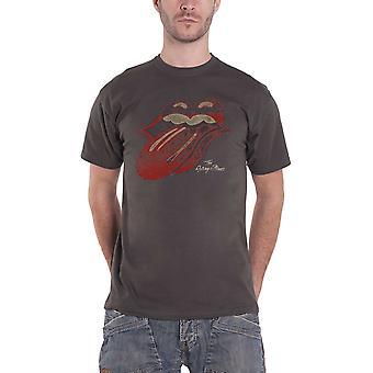 Rolling Stones T-paita Vintage Tongue bändi logo uusi Mens virallinen