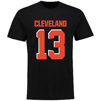 NFL T-Shirt-Cleveland Browns Odell Beckham Jr. noir