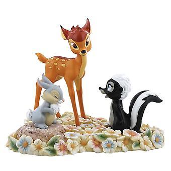 Disney Bambi, Thumper and Flower 'Pretty Flower' Figure