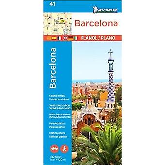 Michelin Barcelona Map 41 - 9782067228320 Book