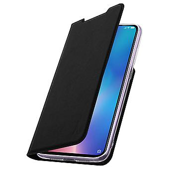 Akashi Xiaomi Mi 9 Card Holder Case Silicone Stand Black
