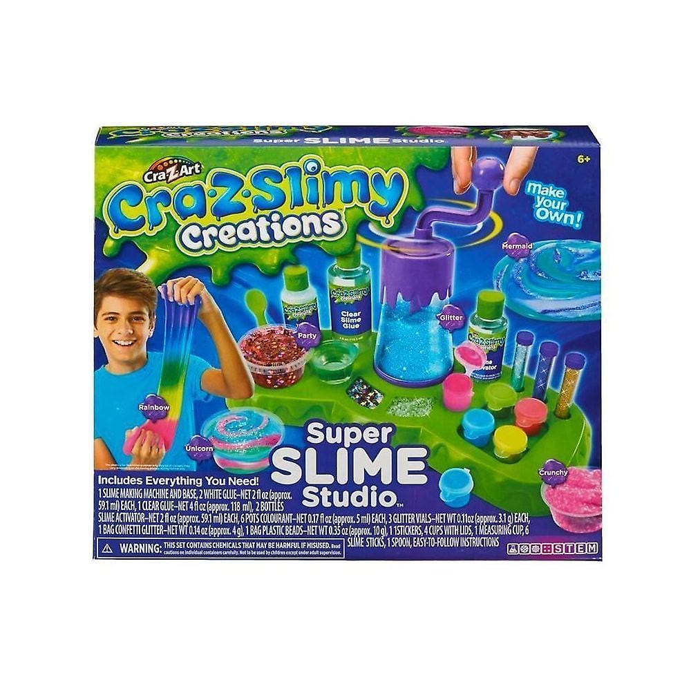 CRA-Z-Slimy skapelser Super Slime Studio