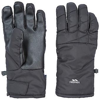 Trespass Mens Kulfon lekko wyściełane zimowe ciepłe rękawiczki