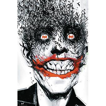 Batman Joker comique chauves-souris Maxi Poster 61x91.5cm