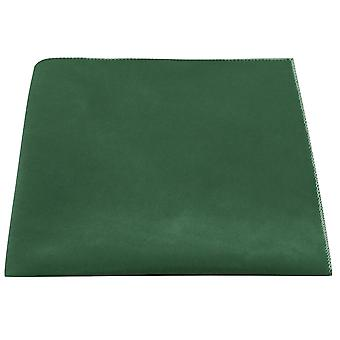 Luxury Racing Green Velvet Pocket Square