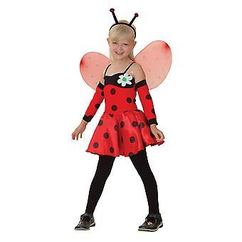 Bristol Novelty Childrens/Kids Ladybug Costume