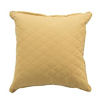 Beach7 | Kussen 'Quilted' |  Curry | accessoires