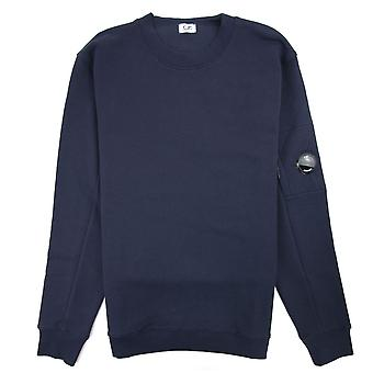 CP Company Diagonal Fleece Objektiv Sweatshirt Navy