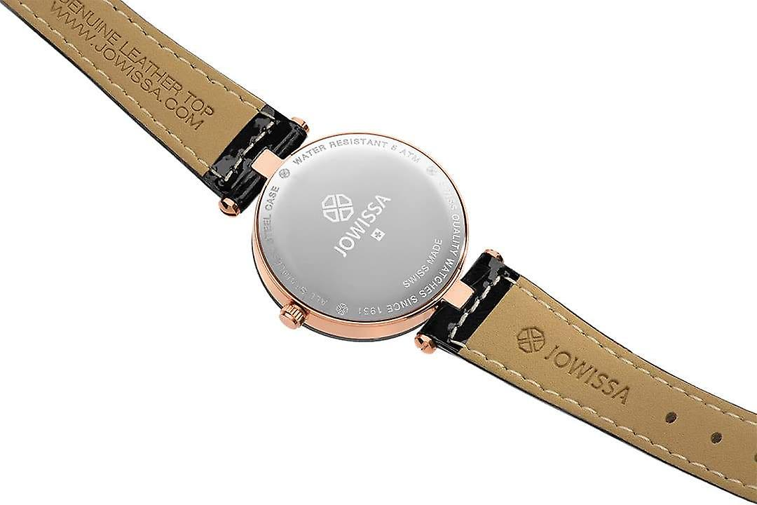 Facet strass swiss ladies watch j5.650.m