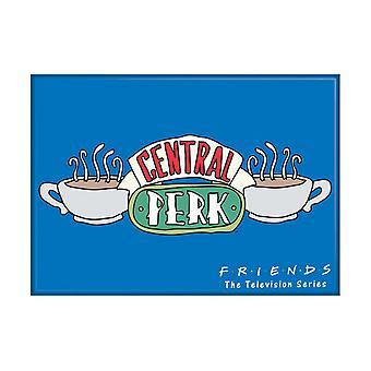 Friends Central Perk Blue Magnet