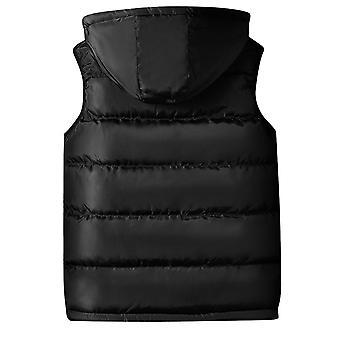 Allthemen mannen ' s gewatteerde vest slim fit mouwloos jasje verwisselbare GLB gilet