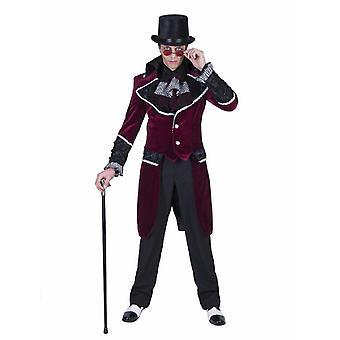 Gothic Gentleman Jupe Halloween Costume Homme Vampire Lord Dandy Veste Costume Homme