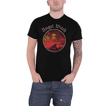 Angel Witch T shirt band logo officiële mens nieuwe zwart