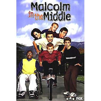 Malcolm In The Middle Original Tv Poster - Single Sided Tv Show