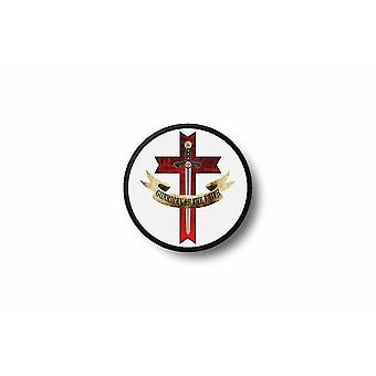 Patch Badge Ecusson Brode Drukuje Thermocollant Flag Knight Templar R2
