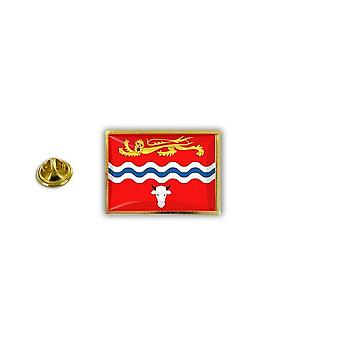 Pino PineS Pin Badge Pin-apos;s Metal Broche English Flag Inglese Regno Unito Herefordshire