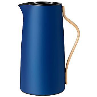 Stelton Emma isolerende kan voor koffie 1,2 liter donkerblauw/donkerblauw