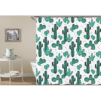 Kaktus art prysznic kurtyna