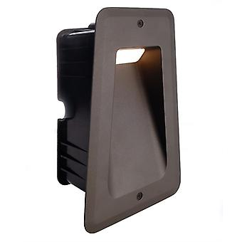 LED wall-mounted lamp Tapi II 6W 3000K 133x200mm anthracite IP54