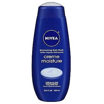 Nivea creme moisture body wash, 16.9 oz