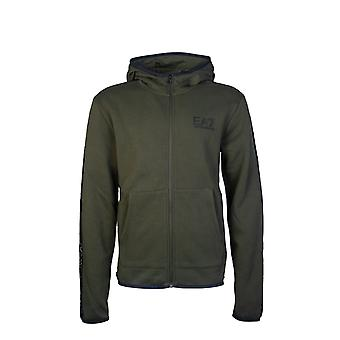 Ea7 Emporio Armani Hooded Sweatshirt Jumper 6gpm32 Pj07z