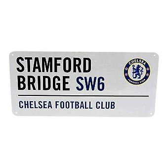 Chelsea FC Official Football Metal Street Sign