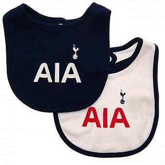 Tottenham Hotspur 2 Pack bavoirs ST