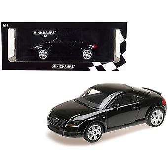 1998 Audi TT Coupé Black Limited Edition à 300 pièces dans le monde 1/18 Diecast Model Car par Minichamps