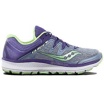 Saucony Guide Iso S10415-1 Damen Laufschuhe Violett Sneaker Sportschuhe