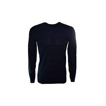 Armani Jeans marineblå genser