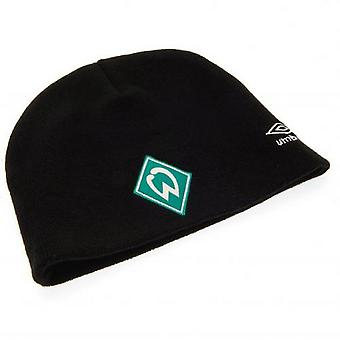 SV Werder Bremen Adults Unisex Umbro Knitted Hat