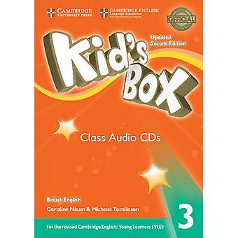 Kids Box Level 3 Class Audio CDs 3 British English by Nixon & CarolineTomlinson & Michael