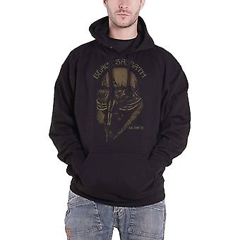 Black Sabbath Hoodie US Tour 78 Band Logo new Official Mens Black Pullover